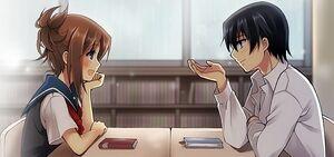 Talking anime people