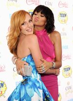 Zendaya and Bella at the TCAs 2014