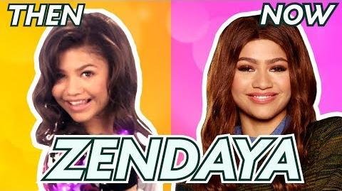 Zendaya Then and Now Disney Channel