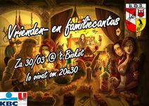 Poster Vrienden en Famile Cantus
