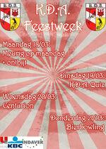 Poster Feestweek