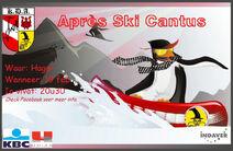 Penguin on snowboard finaal