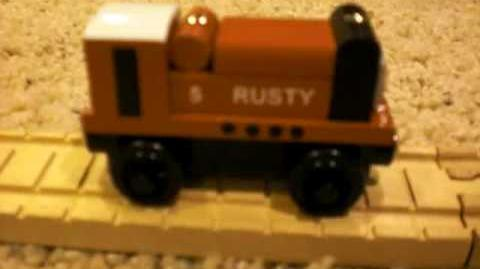 "1998 ""White-Roof"" Rusty Review ThomasWoodenRailway Discussion 2-0"