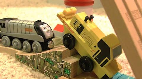 Sodor Railway Repair's Final Stand Claw of the Law Scenes