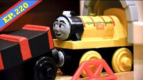 Video Jock Beats The Clock Thomas Friends Wooden Railway