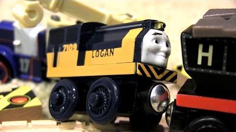 Hector and Logan's Hot Pursuit Thomas & Friends Wooden Railway Adventures Episode 194
