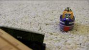 Captain recognizes the flatbed of Sodor Railway Repair
