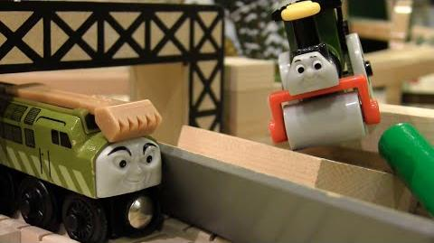 Diesel 10 Invades Sodor Claw of the Law Scenes