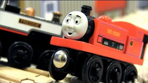 Freddie at the Ready (Part 2) Thomas & Friends Wooden Railway Adventures Episode 200