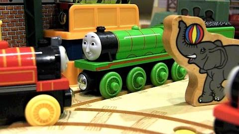 Ivo Hugh's Day at the Zoo Thomas & Friends Wooden Railway Adventures Episode 192