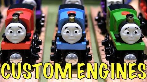Custom Thomas Wooden Railway Engines Review ThomasWoodenRailway Discussion 69