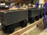 Gray Troublesome Trucks