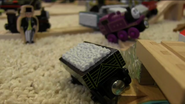 Truckus Ruckus - Sir Topham Hatt finds Sodor Railway Repair's flatbed in the middle of a mishap with Ryan