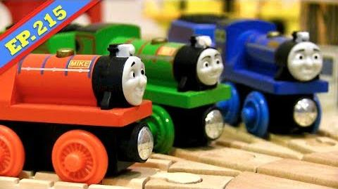 Tyrannical Rex Thomas & Friends Wooden Railway Adventures Episode 215