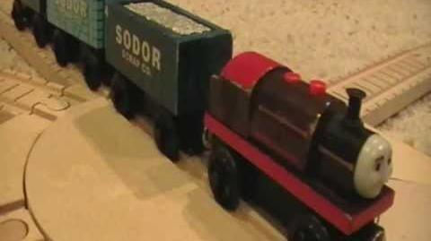 Bertram & Scrap Cars Review ThomasWoodenRailway Discussion 37