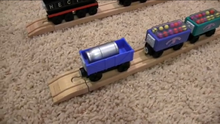 The Blue Truck in ThomasWoodenRailway's Collection Video