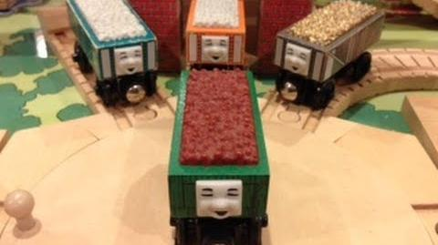 Rickety the Troublesome Truck Review ThomasWoodenRailway Discussion 59