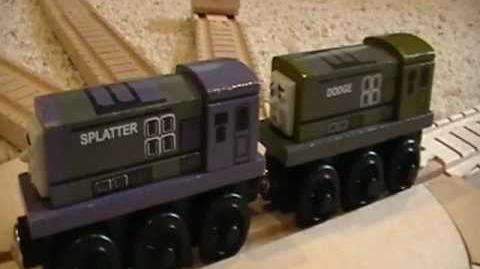 Splatter & Dodge Review ThomasWoodenRailway Discussion 43