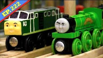 Polar Express Coming Through! Thomas & Friends Wooden Railway Adventures Episode 222