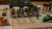 Knapford Station in Oliver's Eleven