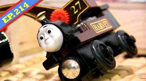 Harvey's Happy Accident Thomas & Friends Wooden Railway Adventures Episode 214