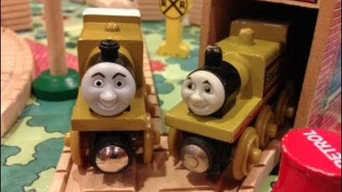 Stepney the Bluebell Engine Review ThomasWoodenRailway Discussion 58-1