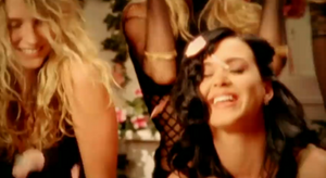 Katy Perry-I Kissed A Girl music video