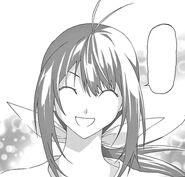 Nozomi smiles