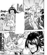 Nozomi's enhanced techniques