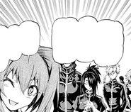 Kurogiri and Nanase tell Maya