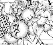 Sayaka corners Nanase