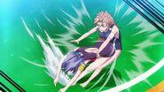Fujisaki defeats Kimura (Anime)