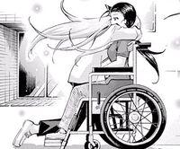 Sumire hugs Riko