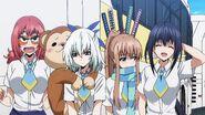 Non, Sayaka, Kazane and Nozomi after traveling around