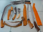 Filipino knives Bolos