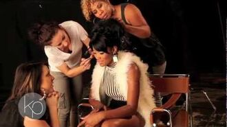 "BTS Keke Palmer ""You Got Me"" On the Set"