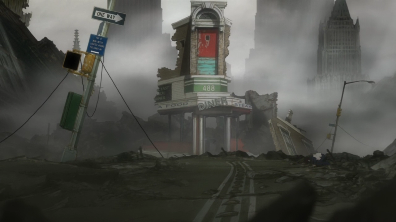 image diannes diner destroyed png blood blockade battlefront