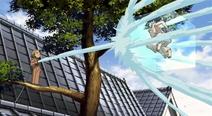 Shigemori and Tokiko fight