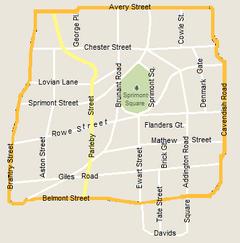 Sprimont map