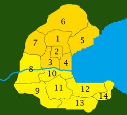 Kemburg City districts-boroughs