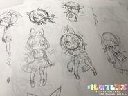 Yoshizaki serval art