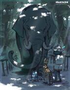 Yoshizaki indian elephant