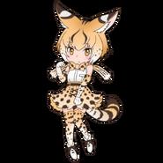 Extra serval