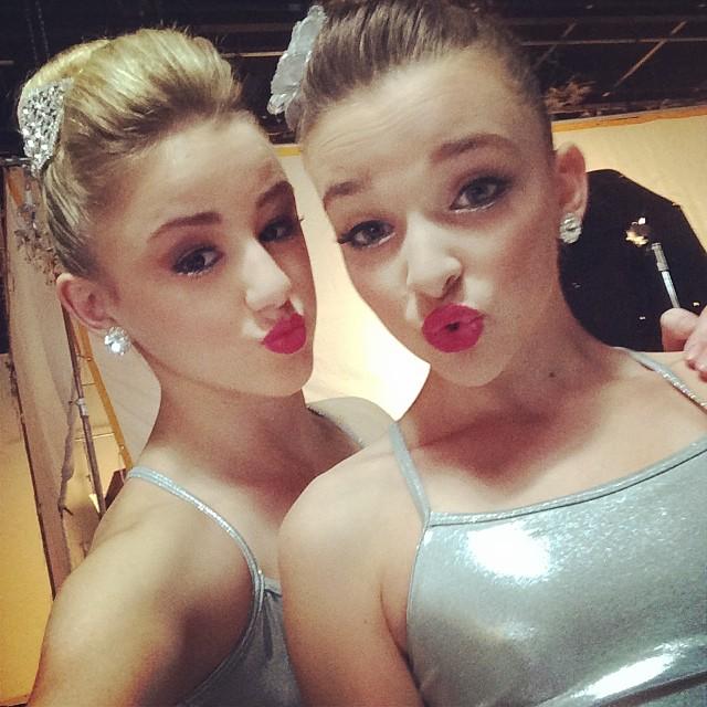 Kendall Vertes And Chloe Lukasiak 2014