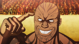 Muteba Gizenga (Anime)
