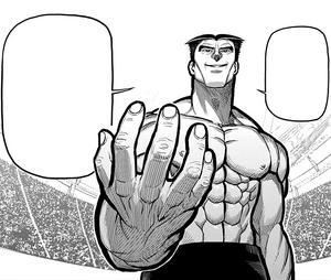 Chiba Takayuki, the Faceless Man