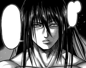Kiryu Setsuna pissed off