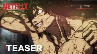 Kengan Ashura Teaser HD Netflix