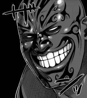 Muteba Gizenga battle grin
