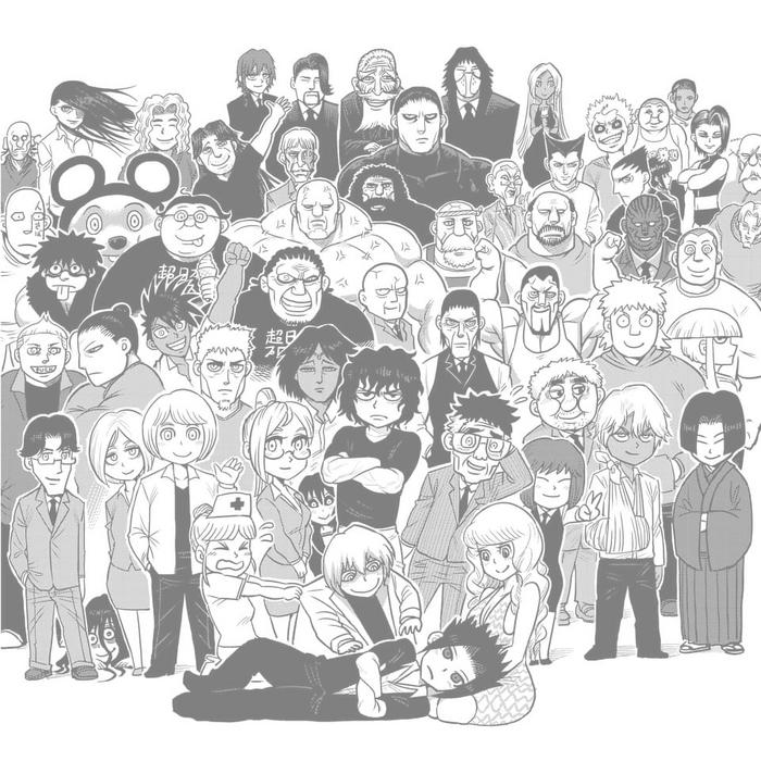 Kengan characters chibi
